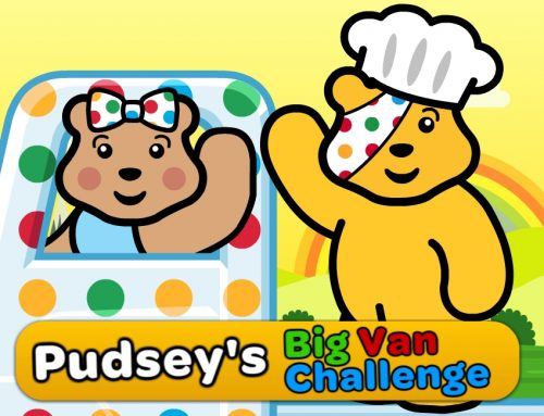 Children in need – Pudsey's Big Van Challenge