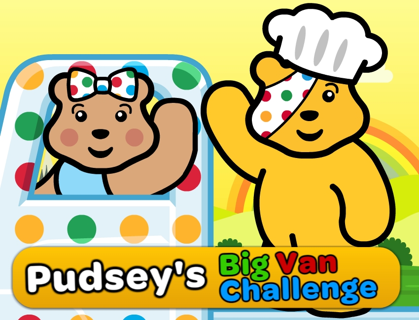 Children in need -BBC Pudsey's Big Van Challenge