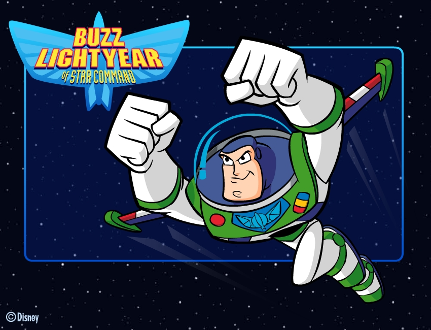 disney buzz lightyear game artwork