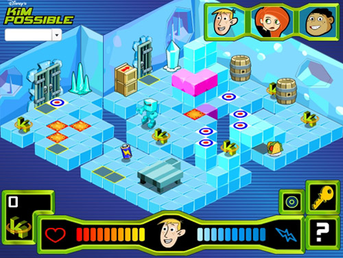 disney kim possible game graphics