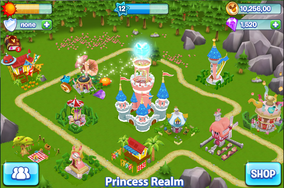 disney_puzzle_kingdom_princess_in_game