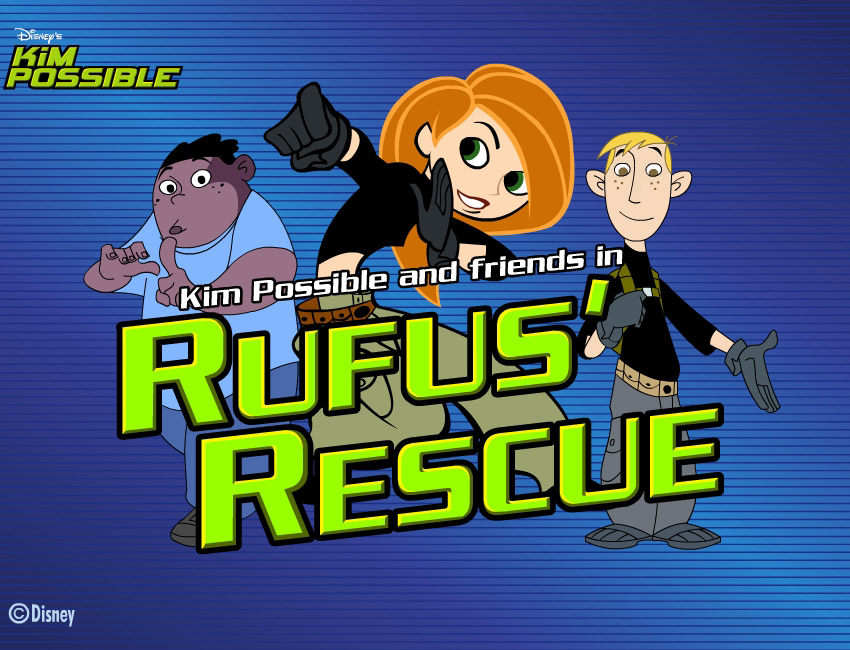 kim possible rufus rescue