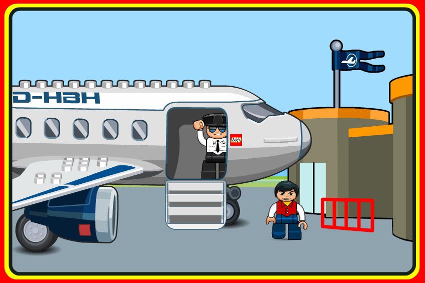 lego airport passenger