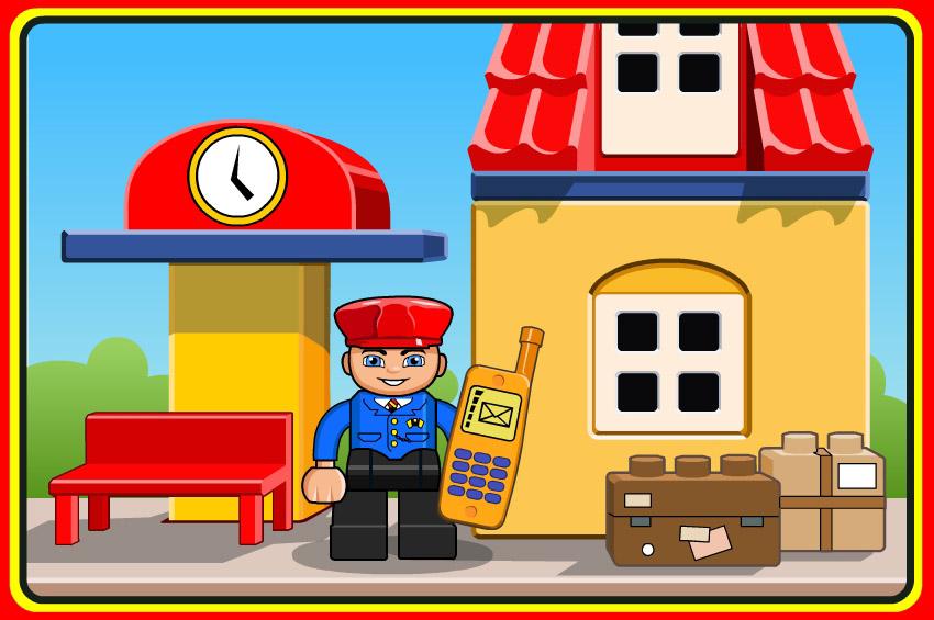 lego train driver