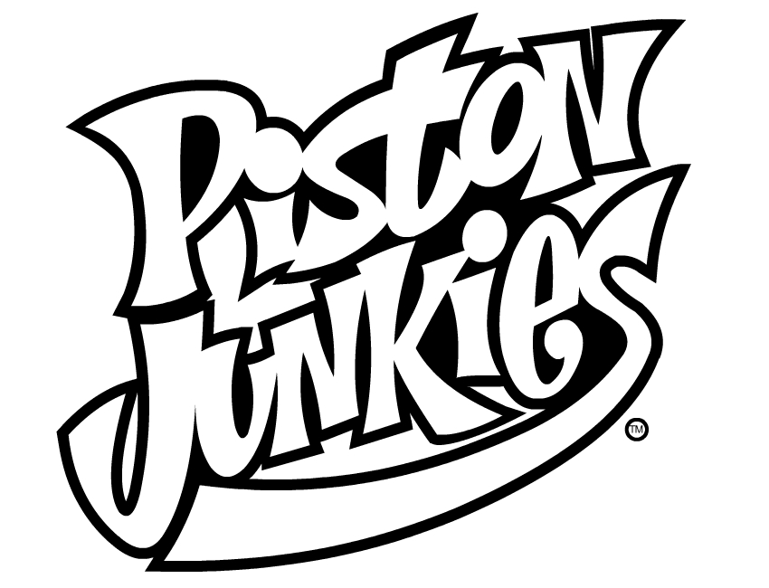 piston junkies Logo Design and Illustrations