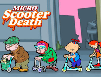 Kerb micro Scooter Death