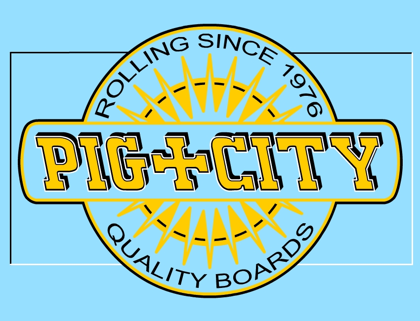 pig city rizla art