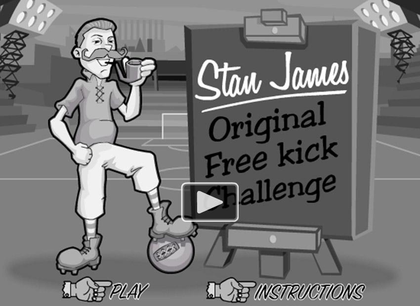 play stan jamesgame graphics