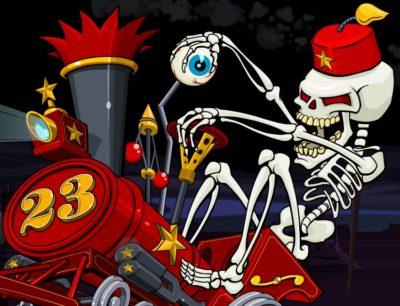 voodada skeleton train