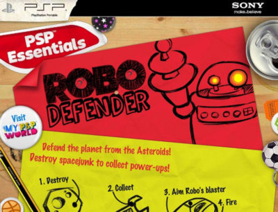 sony robo defender art